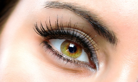 Full Set of Eyelash Extensions with Optional Fill at Lash Noir Beauty Bar (Up to 51% Off)