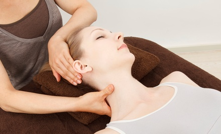 Chiropractic Package with 1-Hour Full Body Massage at United Chiropractic & Pecan Valley Chiropractic (Up to 92% Off)