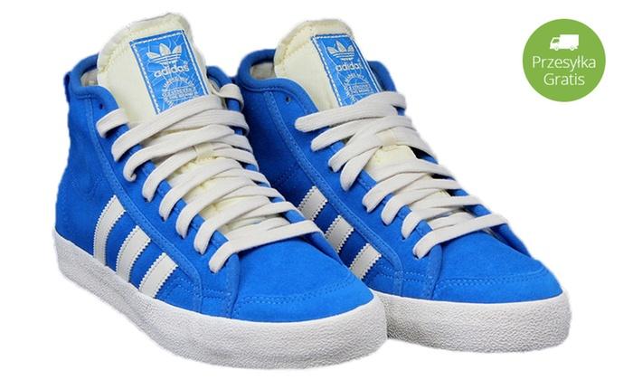 buy online f8e6e 795c7 Trampki damskie Adidas Honey Mid G64244