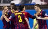 Professional Fustal League International Challenge: FC Barcelona vs. USA or Mexico - Dr Pepper Arena: $7 for One Ticket to an International Futsal Match on March 13 or 14 at Dr. Pepper Arena ($11 Value)