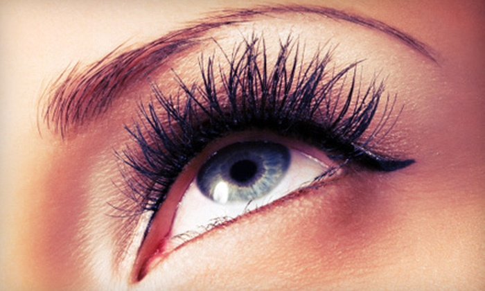 VX Lashes Studio - Houston: One Set of Eyelash Extensions with Optional Refill at VX Lashes Studio (Up to 66% Off)