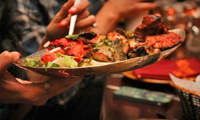 Khyber Grill - Frontier Indian Cuisine - South Plainfield: Two $30 or $40 Groupons for Dinner, or $30 Off Your Lunch Bill for Two People at Khyber Grill - Frontier Indian Cuisine
