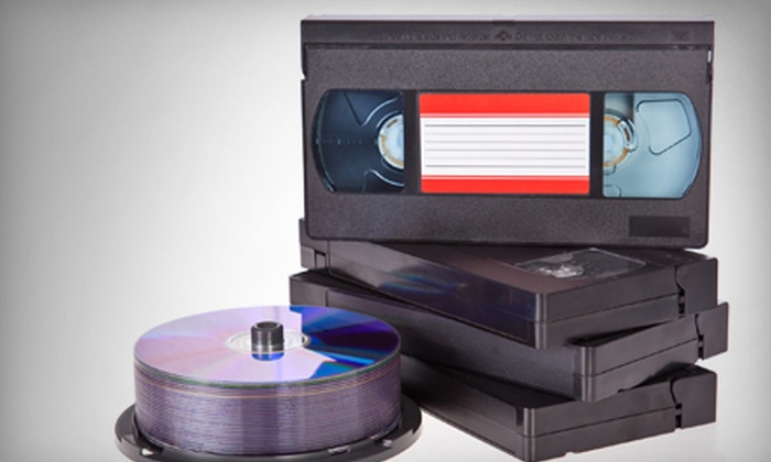 Denevi Digital Imaging - Cherryland: Three or Six VHS-to-DVD Transfers at Denevi Digital Imaging (Up to 67% Off)