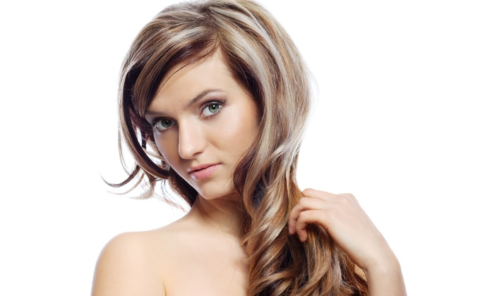 Salon Miko Day Spa - Coral Springs: Haircut, Blow-Dry, and Style with Optional Color or Highlights (Up to 65% Off)