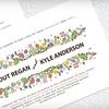 Half Off Wedding Invites from Pretty Little Prints