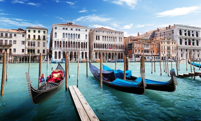 7-Day Amsterdam and Venice Vacation from go-today - Smart Hotel Holiday: ✈ 7-Day Vacation in Amsterdam and Venice with Airfare from go-today; Price/Person Based on Double Occupancy