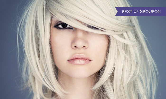 Korrie Medina at Kenneth Brown Salons - Laguna Niguel: Haircut and Style with Optional Partial Highlights from Korrie Medina at Kenneth Brown Salons (Up to 69% Off)