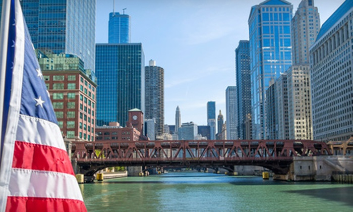 Chicago's Finest River Walk Tour - Chicago: Chicago's Roaring '20s or Riverwalk Brunch Tour for Two from Chicago's Finest River Walk Tour (Up to Half Off)