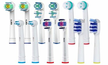 Generic Replacement Electric Toothbrush Head (20-Pack)