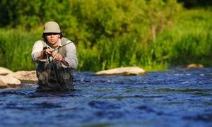 J. Farns Guide Service: Five-Hour Fishing Trip with Optional Meal from J. Farns Guide Service (43% Off)
