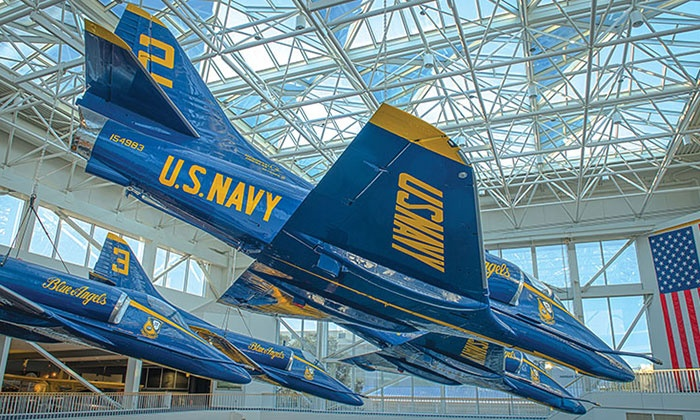 National Naval Aviation Museum - Southwest Pensacola: $14 for a Visitor Attraction Package at the National Naval Aviation Museum ($22.25 Total Value)