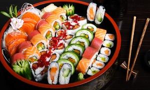 Oma Sushis: Sushischaal om mee te nemen voor 15 of 30 stuks vanaf € 14,99 bij Oma Sushis