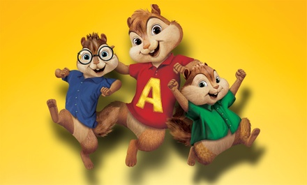 Alvin and the Chipmunks: Live on Stage! on Friday, October 30, at 2 p.m. or 5:30 p.m.