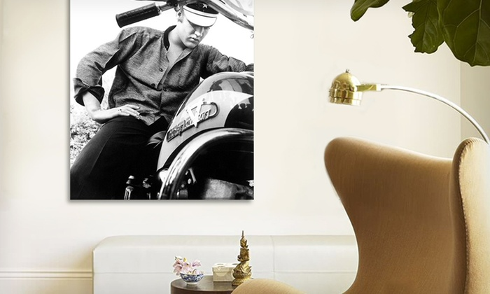 "$39.99 for 26""x18"" Car or Motorcycle Canvas Art Print. Multiple Images. Free Shipping & Returns"