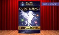 1 place adulte ou enfant, en catégorie première ou or pour le spectacle ''Quintessence'' dès 30 € au Brest Arena