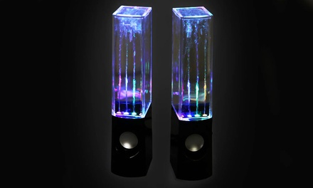 Dancing Water Stereo Speakers with LED Lights