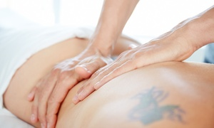 Blu Angels Massage: 60- or 90-Minute Massage at Blu Angels Massage (Up to 55% Off)