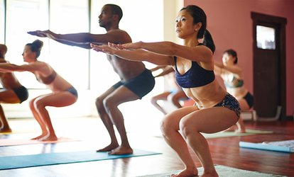 image for Five Hot Yoga Sessions or Two Weeks of Yoga Classes at Dublin City Bikram Yoga (Up to 71% Off)