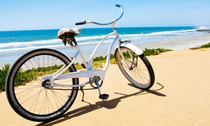 Venice Beach Electric Bike Rentals: One or Two Full-Day Beach Cruiser Biker Rentals from Venice Beach Electric Bike Rentals (Up to 45% Off)
