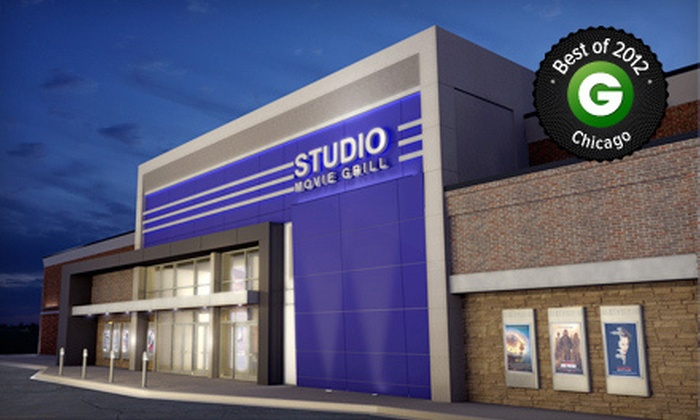 Studio Movie Grill - Wheaton: $5 for Movie and Soda at Studio Movie Grill (Up to $13.75 Value)