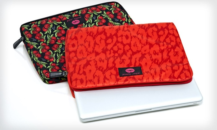 Betsey Johnson iPad and Laptop Sleeves : Betsey Johnson iPad or Laptop Sleeve (Up to 77% Off). Two Designs Available.
