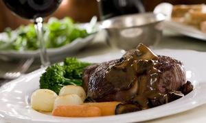 Potbelly's Riverside Cafe: Dinner for Two or Four or More at Potbelly's Riverside Cafe (Up to 48% Off)