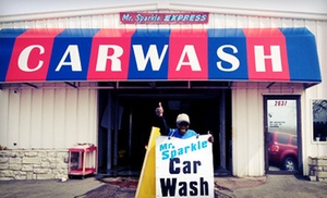Mr. Sparkle Car Wash: $25 for Two Protection Car-Wash Packages at Mr. Sparkle Car Wash ($50 Value)