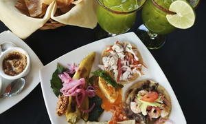La Cuchara: Mexican Food with Margaritas for Two or Four at La Cuchara (Up to 54% off). Four Options Available.