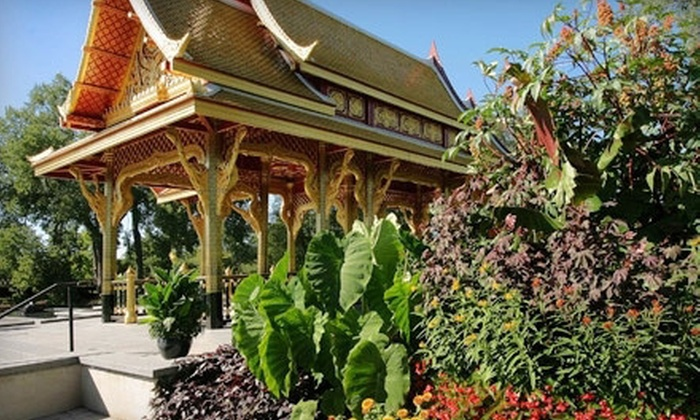 Olbrich Botanical Gardens - Schenk-Atwood-Starkweather-Yahara,Schenk-Atwood,Near East Side: $25 for One-Year Garden Family Membership at Olbrich Botanical Gardens ($55 Value)