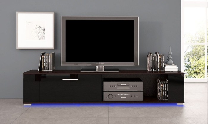 meuble tv orkus groupon. Black Bedroom Furniture Sets. Home Design Ideas