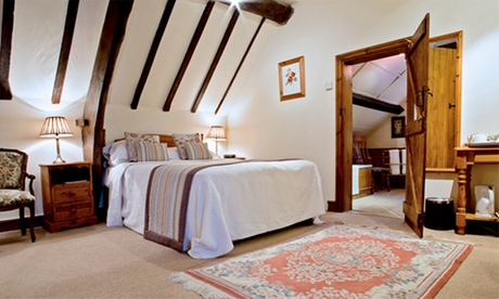 Shropshire: 1-2 Nights for Two with Breakfast and Optional Dinner or Tea/Coffee and Biscuits at The Crown Country Inn