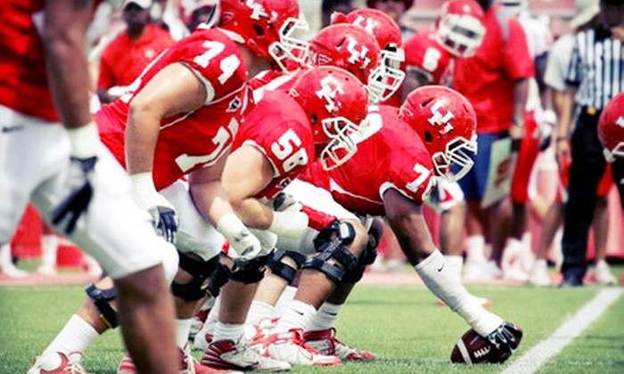 University of Houston Cougars - Greater Third Ward: University of Houston Cougars Football Game at Robertson Stadium on September 1 or 8 or October 6 or 13 (Up to Half Off)
