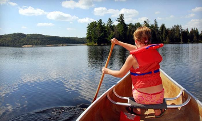 Howardsville Canoe Livery - Scottsville: Self-Guided Tube or Canoe Trip for Two from Howardsville Canoe Livery in Scottsville (Up to 51% Off)