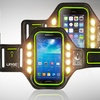 Smartphone Armband with Bright LED Lights
