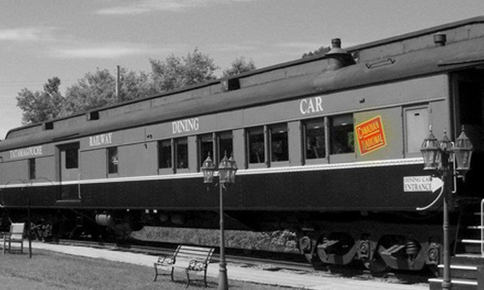 Tatamagouche Railway Dining Car - Tatamagouche: $40 for a Steak or Seafood Dinner for Two at Tatamagouche Railway Dining Car (Up to $83 Value)