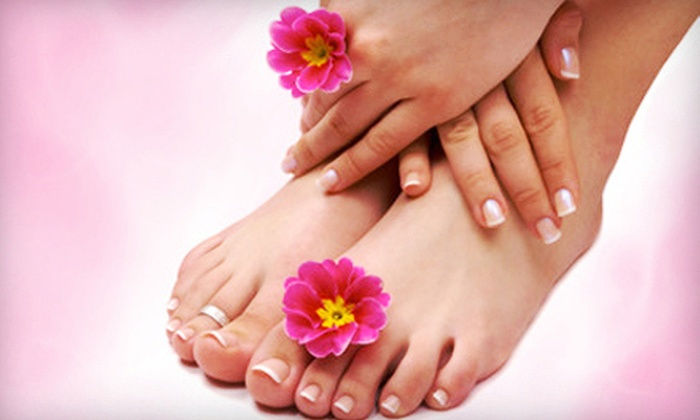 Cinema Wellness - East LA: One or Two Mani-Pedis, or One Mani-Pedi with a Reflexology Foot Massage at Cinema Wellness (Up to 76% Off)