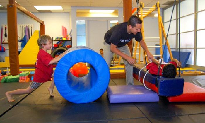 Pediatric Motor Playground - Multiple Locations: $50 for Four Children's Motor-Skills Classes at Pediatric Motor Playground ($157 Value)