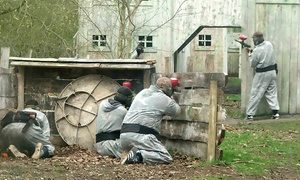 Elsham Activity Centre: Paintballing For Five, Ten or Twenty People from £8 at Elsham Activity Centre (Up to 95% Off)
