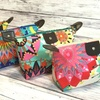 Water-Resistant and Foldable Trendy Patterned Cosmetic Bag
