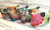 Water-Resistant and Foldable Trendy Patterned Cosmetic Bag: Water-Resistant and Foldable Trendy Patterned Cosmetic Bag