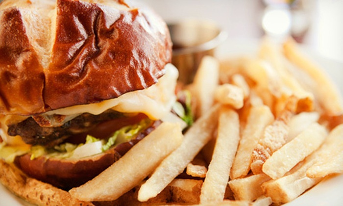 Wheelhouse Pub - Whalley: Two-Course Dinner for Two or Four or $10 for $20 Worth of Burgers and Sandwiches for Lunch at Wheelhouse Pub