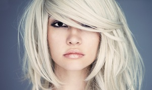 Rave Salon and Spa Retreat: Haircut & Split-End Treatment or Highlights, or Brazilian Blowout at Rave Salon and Spa Retreat (Up to 50% Off)