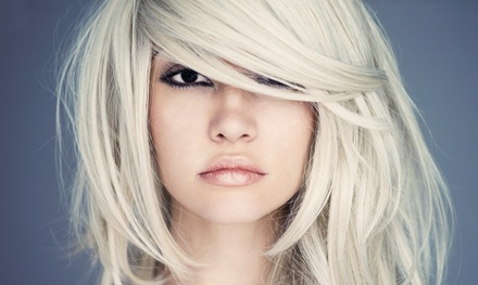 Haircut & Split-End Treatment or Highlights, or Brazilian Blowout at Rave Salon and Spa Retreat (Up to 50% Off)