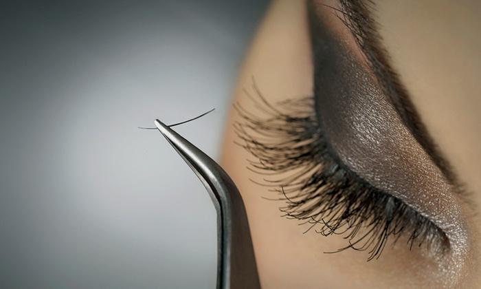 Shampu Beauty Bar - Waterbury: One Full Set of Mink or Silk Eyelash Extensions at Shampu Beauty Bar (Up to 71% Off)