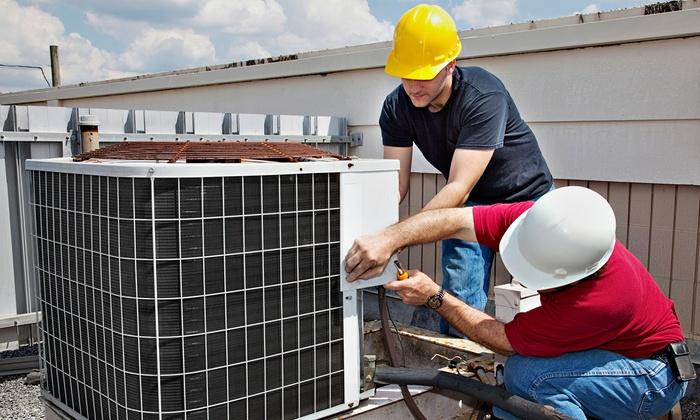 Jon Wayne Heating & Air Conditioning - San Antonio: AC or Heating Tune-Up with Optional Plumbing Inspection from Jon Wayne Heating & Air Conditioning (Up to 83% Off)