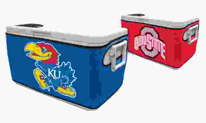 48 Qt. NCAA Cooler Cover: $12.99 for an NCAA 48 Qt. Cooler Cover ($19.99 List Price). Multiple Teams Available. Free Returns.