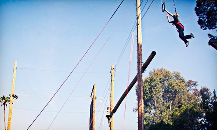 Fulcrum Adventures - Jefferson: Three-Hour Ropes Challenge Course for One or Two at Fulcrum Adventures (Up to 77% Off)