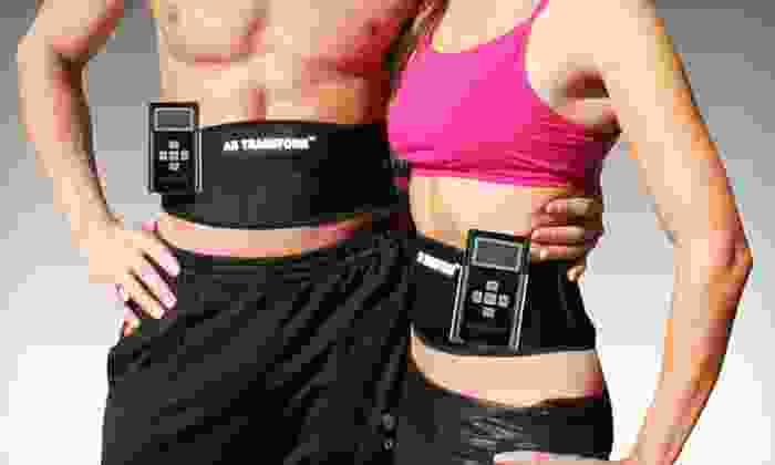 Ab Transform Plus: $49.99 for an Ab Transform Plus Electronic Muscle-Stimulation Belt ($129.95 List Price)