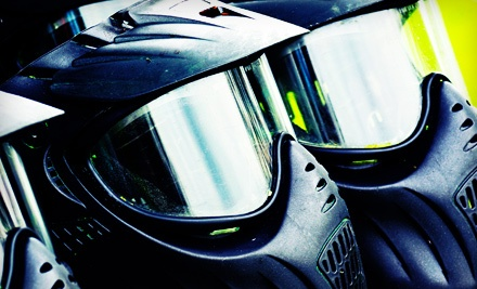All-Day Paintball Package for One or Four at Warpaint International (Up to 55% Off)