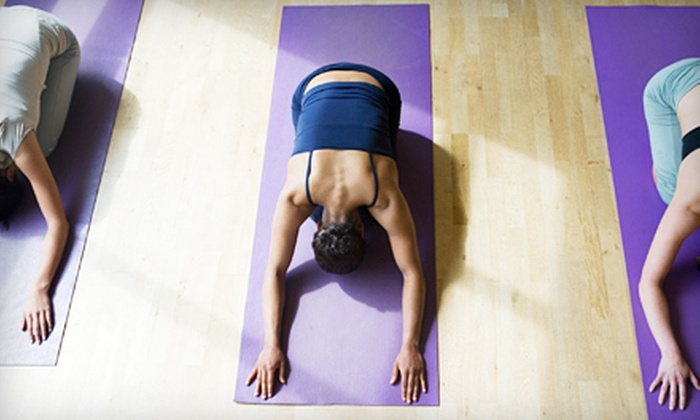 Yoga Brent - Warren Sherman: 5 or 10 Hot Vinyasa Yoga Classes at Yoga Brent (Up to 71% Off)